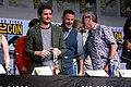 Pedro Pascal, Channing Tatum & Dave Gibbons (35732488810).jpg