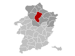 Peer Limburg Belgium Map.png