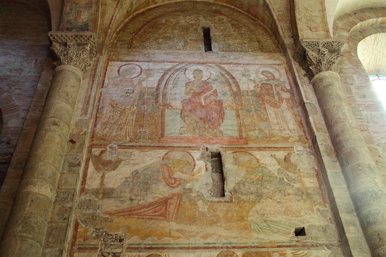 File:Peinture murale Saint-Sernin.jpg - Wikimedia Commons