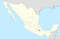 Peniocereus viperinus range map.png