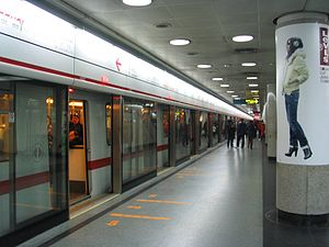 Public transport in Shanghai - The Shanghai Metro is one of the fastest growing systems in the world.