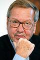 Per Stig Moeller, utrikesminister Danmark, under pressmote vid Nordiska radets session i Kopenhamn 2006 (1).jpg