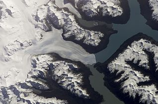 Perito Moreno Glacier - Satelite - NASA - ISS004-E-9707.JPG