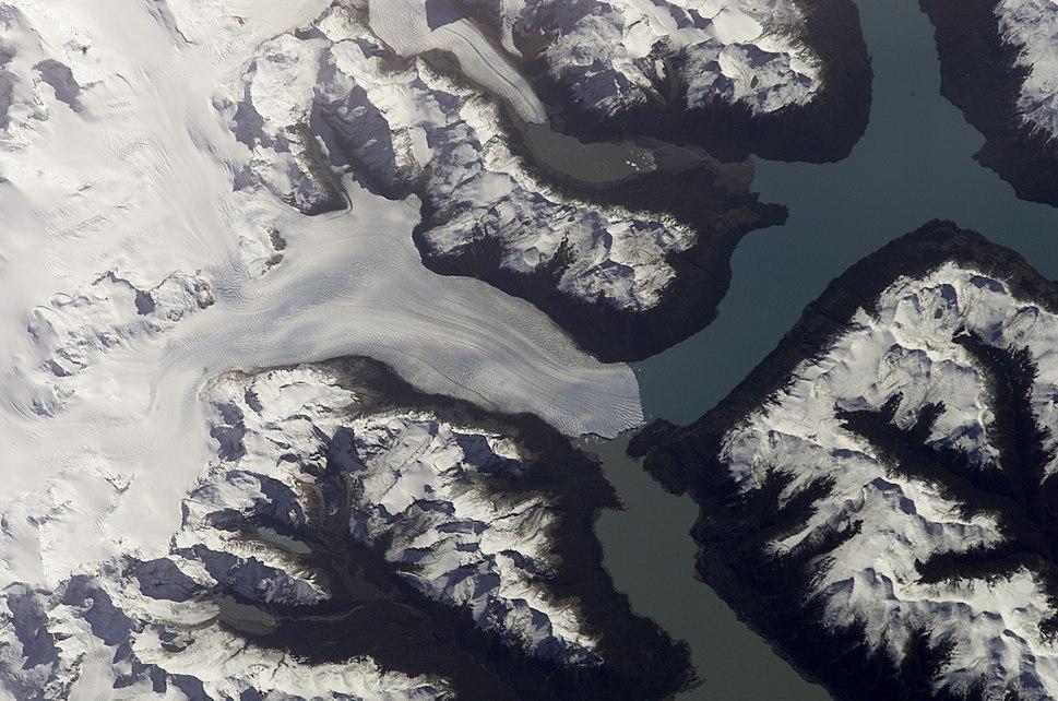 Perito Moreno Glacier - Satelite - NASA - ISS004-E-9707