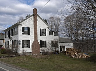 Weathersfield, Vermont - A house in Perkinsville