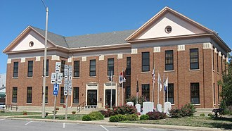 Pinckneyville, Illinois - Perry County Courthouse, downtown