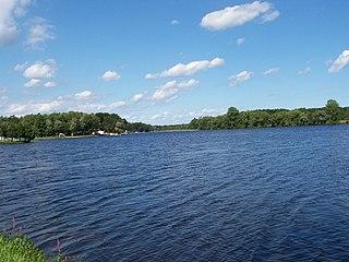 Peshtigo River tributary of Green Bay, Wisconsin