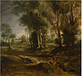 Peter Paul Rubens - Evening landscape with timber wagon.jpg