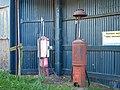 Petrol Pumps at Redheugh Farm - geograph.org.uk - 157881.jpg