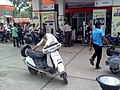 Petrol pump, Nagpur, India.jpg