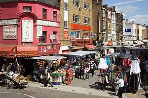 Petticoat Lane Market - The market in 2006