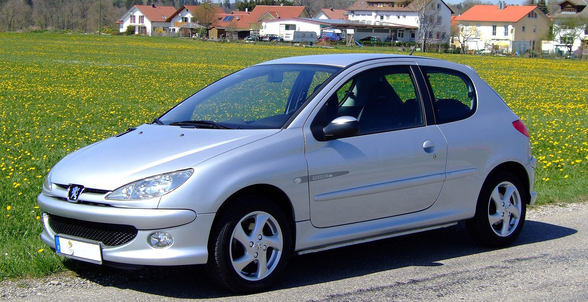 Peugeot 206 Wikip 233 Dia