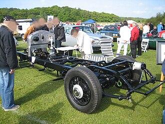 Rolls-Royce Phantom II - Rolls-Royce Phantom II frame