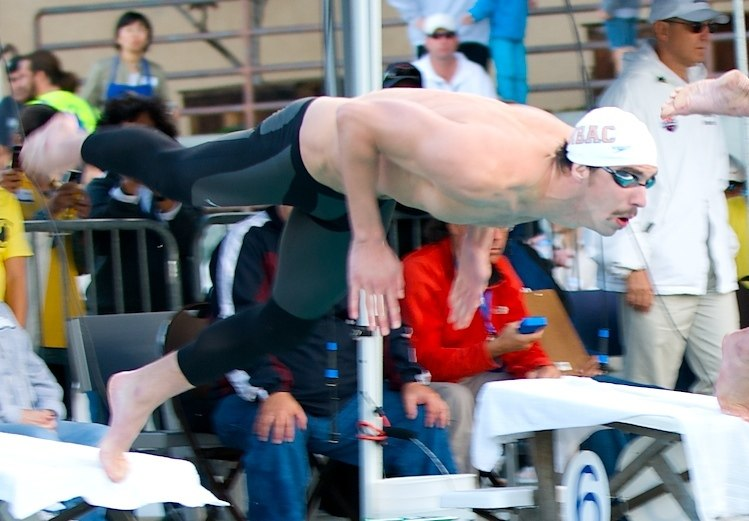 Phelps Santa Clara 2009 - start