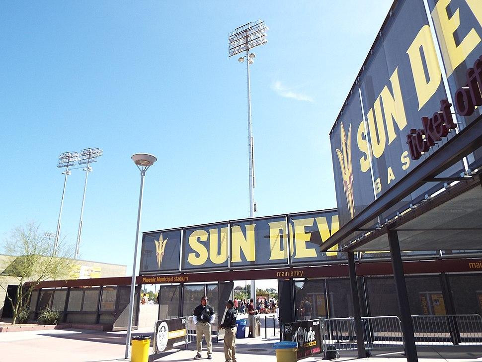 Phoenix-Phoenix Municipal Stadium-1964-2