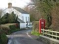 Phonebox at Alminstone Cross - geograph.org.uk - 672383.jpg