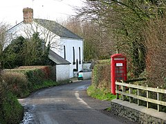 Phonebox at Alminstone Cross - geograph.org.uk - 672383.jpg