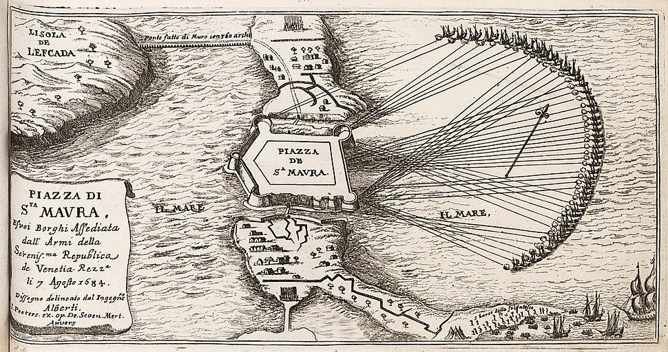 Piazza di Sta Maura - Peeters Jacob - 1686