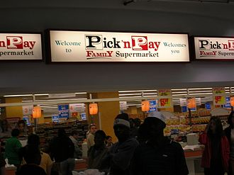 Pick n Pay Stores - Pick 'n Pay store in Windhoek, Namibia