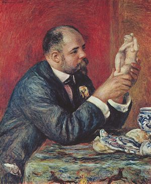 Ambroise Vollard - Pierre-Auguste Renoir, Portrait of Ambroise Vollard, 1908, 82 x 65 cm, Courtauld Institute Galleries, London