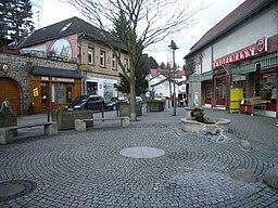 Ansicht des Pijnackerplatzes Steinbach (Taunus)