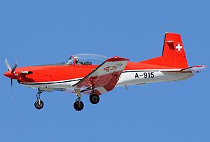 Pilatus PC-7 - Image: Pilatus PC 7, Switzerland Air Force JP7211053