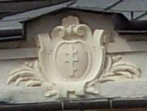 Piława coat of arms - Image: Pilawa coat of arms in Lancut palace