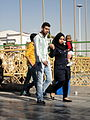 Pilgrims and People around the Holy shrine of Imam Reza at Niruz days - Mashhad - Khorasan - Iran 069.JPG