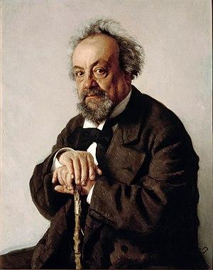 Aleksey Pisemsky - Portrait of Pisemsky by Ilya Repin