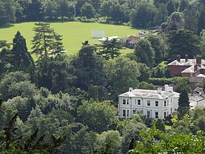 Pixham - Image: Pixham from Box Hill (geograph 3074546)