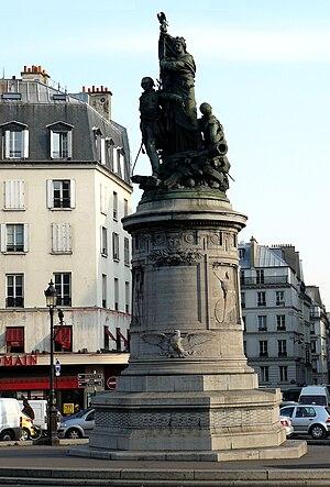 Amédée Donatien Doublemard - Image: Place Clichy Moncey