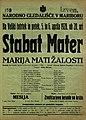 Plakat za predstavo Stabat Mater Marija mati žalosti v Narodnem gledališču v Maribor 5. aprila 1928.jpg
