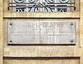 Plaque Hôtel de Sourdéac, 8 rue Garancière, Paris 6.jpg