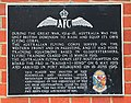 Plaque commemorating the Australian Flying Corps in Ocean Village - geograph.org.uk - 463788.jpg