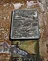 Plaque on substructure of Kentucky approach to Kentucky and Indiana Bridge in October 1987 87j317.jpg