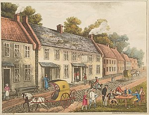 Wellington Museum, Waterloo - Image: Plate E from 'An Historical Account of the Campaign in the Netherlands' by William Mudford (1817)