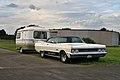 Plymouth Fury, 1969, pulling a caravan (25261802827).jpg