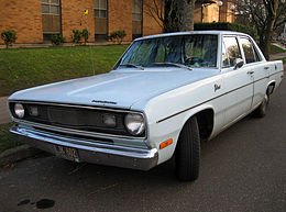 Una Plymouth Valiant del 1970
