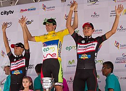 Podio Vuelta a Colombia 2013.jpg