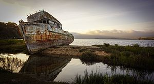 Point Reyes - Point Reyes shipwreck