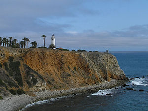 Palos Verdes Peninsula - The Point Vicente Lighthouse on the Palos Verdes Peninsula and the National Register of Historic Places.