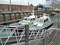 Police launches within Portsmouth Dockyard - geograph.org.uk - 902025.jpg