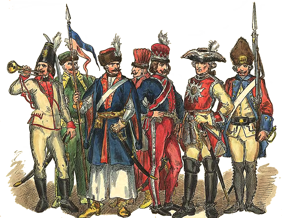 Polish soldiers 1697-1795