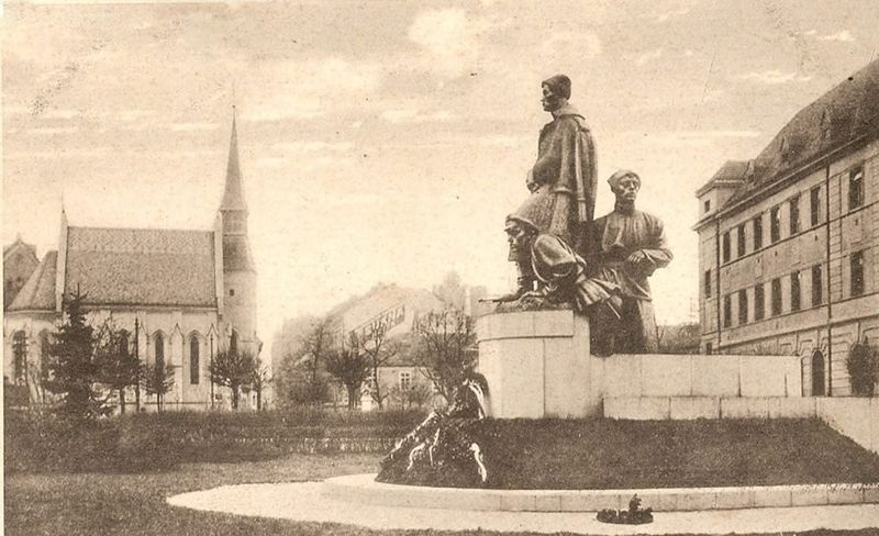 File:Pomník pluk. Švece, Č. Budějovice 01.jpg
