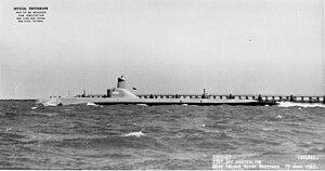Tench-class submarine - Image: Pomodon (SS 486)