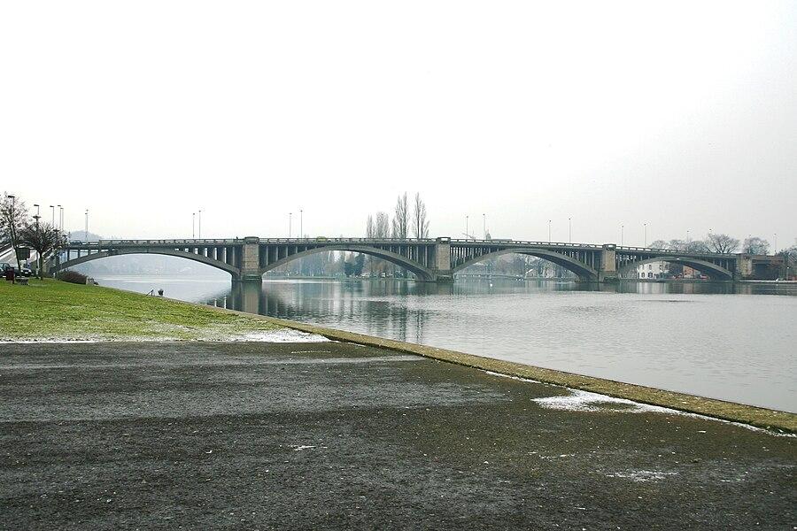 Le pont de Visé en 2005
