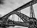 Ponte de D. Luís I in bianco e nero. Ph Ivan Stesso.jpg