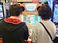 Popn music 20 fantasia arcade machine.jpg