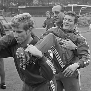 Zvezdan Čebinac - Image: Popp, Cebinac en Merkel (1968)