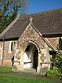 Porch on west wall, St. Saviour's church - geograph.org.uk - 1020220.jpg